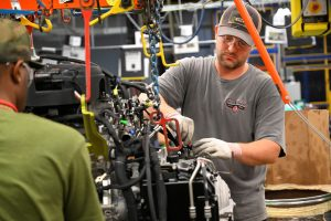GM cutting production at several plants due to chip shortage