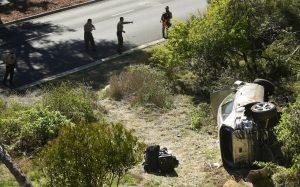Tiger Woods was speeding before car crash, cops say